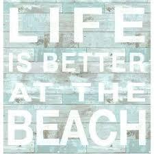 wooden beach wall decor beach wall signs home decor ideas websites