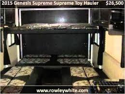 2018 genesis supreme 29ck. delighful supreme 2015 genesis supreme toy hauler used cars mesa az to 2018 genesis supreme 29ck