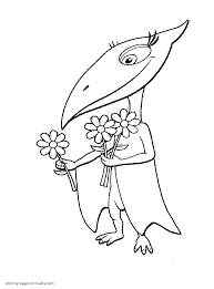 Small Picture Dino Train Coloring Pages Coloring Coloring Pages