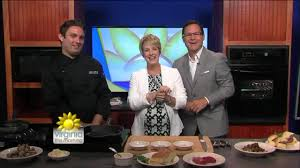 Chef Wesley Weber serves up tender and juicy steak sandwiches