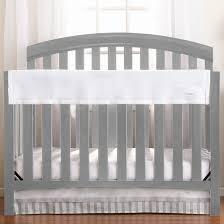 railguard crib rail cover white