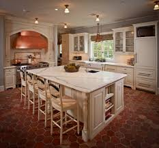 White Kitchen Floors Best Off White Kitchen Cabinets With Dark Floors