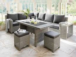 kettler palma corner set with table in