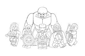 Coloring Pages Avengers Avengers Coloring Pages Printable Coloring