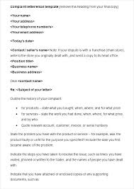 5 Complaint Email Examples Samples Doc Reply Template Airline