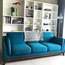 article modern furniture. Article Ceni Sofa Green Blue 3 Solid Wood Legs Modern Furniture -