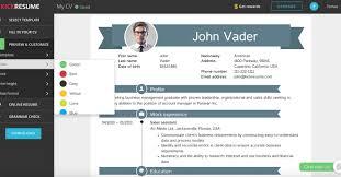 Resume Wonderful Resume Creator Free Other Skills Resume Sample