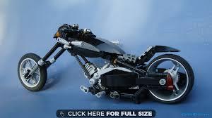 lego technic chopper bike hd wallpaper
