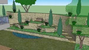 Small Picture Garden Design 3D SketchUp YouTube