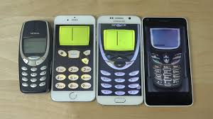 nokia 3310 vs iphone 5. nokia 3310 vs. iphone 6 samsung galaxy s6 microsoft lumia 640 snake gameplay! (4k) - youtube vs iphone 5
