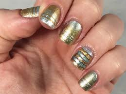 Nail designs gold and silver ~ Beautify themselves with sweet nails