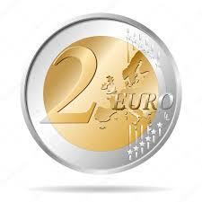 ✓ 2 euro coin vector illustration premium vector in Adobe Illustrator ai (  .ai ) format, Encapsulated PostScript eps ( .eps ) format