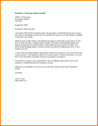 Reference Letters Samples Format Examples Examples Of Reflective