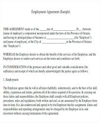 Employer Contract Template Nanny Contract Template Nanny Contract 7 ...