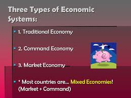 bell ringer minutes to finish your gov t essay if you need it  three types of economic systems  1 traditional economy  2