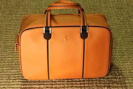 Luggage Ferrari Ff Leather Bag By Schedoni Luxury Luggage Catawiki
