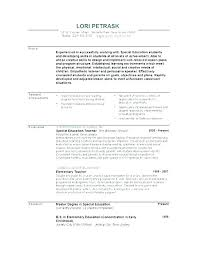 Special Education Assistant Resume New Resume For Assistant Teacher Best Resume For Teachers Resume For