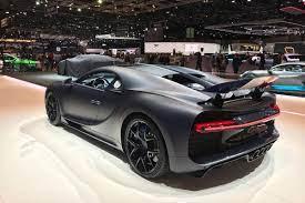 There was the centodieci, a car designed to celebrate bugatti's 110th anniversary, of which just 10 will be built. Bugatti Unveils 110th Anniversary Chiron Sport Special Edition At Geneva Evo