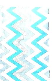blue and white chevron rug teal grey rugs navy runner