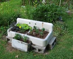 sink as planter my daughter just requested i grab one on