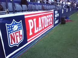 nfl playoff banner