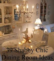 39 shabby chic dining room ideas diy cozy home