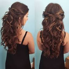 Hairstyles For Formal Dances 32 Pretty Half Up Half Down Hairstyles Partial Updo Wedding