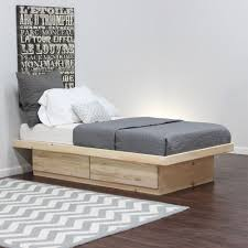 twin platform bed frame with storage great on full size bed frame