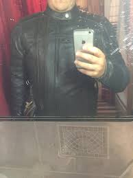 because the only person that would fit would have no wrists also do leather jackets like this loosen up a bit over time how long does it take