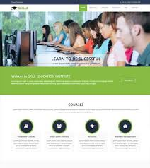 Templates For Education 75 Most Popular Educational Website Templates Free Download