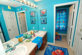 fish bathroom rug set