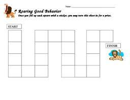 Good Behavior Star Chart