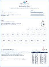 Colombian Ring Size Chart How To Size A Ring Determine Your Ring Size