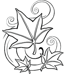 Printable Coloring Pages For Adults Free Autumn Leaves Christmas ...