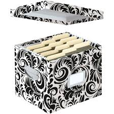 Decorative Filing Boxes Decorative Hanging File Folder Storage Box Storage Designs 47