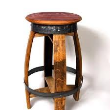 rustic bar stools. Exellent Rustic Rustic Swiveling Wine Barrel Barstools By Tony Derricotte Inside Bar Stools