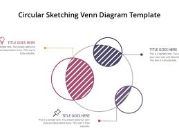 Diagram Venn Ppt Circular Sketching Venn Diagram Template For Powerpoint By
