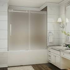 impressive sliding tub shower doors with best bathtub ideas glass bathroom enclosures designs