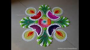 Easy Diya Rangoli Designs For Diwali Easy Diya Rangoli For Diwali Easy Rangoli Designs By Poonam Borkar