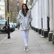 coat c o quiz clothing top primark jeans asos heels c o treds