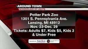 Wonderland Of Lights Lansing Mi Around Town Potter Park Zoo Wonderland Of Lights 11 22 19
