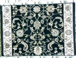blue white oriental rug rugs home ideas pro black and style runner