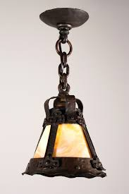 arts and crafts style landscape lighting. arts and crafts pendant light with rare antique slag glass early 14 nc886 1 on category 681x1024 lighting 681x1024px style landscape n