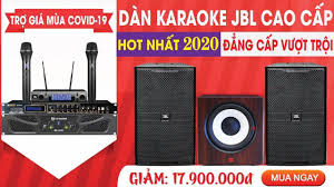Bảo Châu Elec - DÀN KARAOKE JBL ĐẲNG CẤP - Loa full JBL, Cục đẩy Crown Xli  2500, Micro JBL VM300, Vang số Chống hú