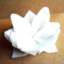 Paper Napkin Folding Flower Table Napkin Folding Rose Courbeneluxhofinfo Lotus Flower