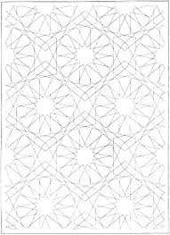 Easy Geometric Coloring Pages Predragterziccom