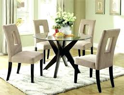 small glass dining table set astonishing round glass dining table lovable glass top kitchen table round