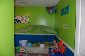 Green And Blue Boy Room
