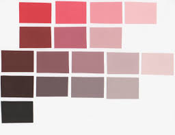 Color Aid Chart A3 Red Color Charts Allys Color Blog