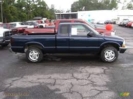 2000 Chevrolet S10 Extended Cab 4x4 in Indigo Blue Metallic ...